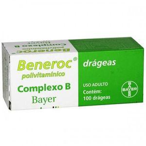 Beneroc-frasco-com-100-drageas