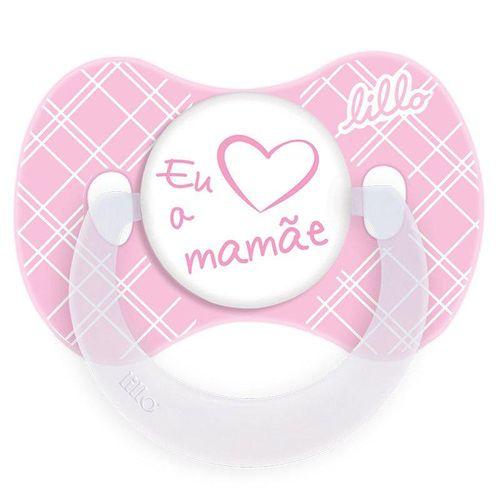 Chupeta-Lillo-Funny-Eu-Amo-A-Mamae-Rosa-Tamanho-2