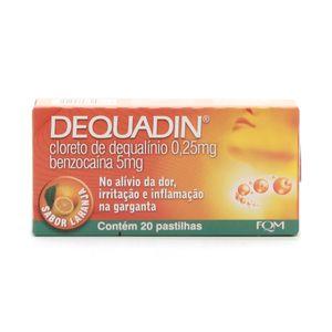Dequadin-025-5mg-caixa-com-20-pastilhas-sabor-laranja