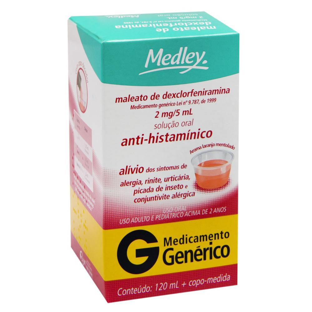 Maleato-de-Dexclorfeniramina-Medley-04mg-solucao-oral-frasco-com-120ml-copo-medidor