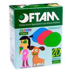 Protetor-Ocular-Oftam-Colorido-Com-20-Unidades
