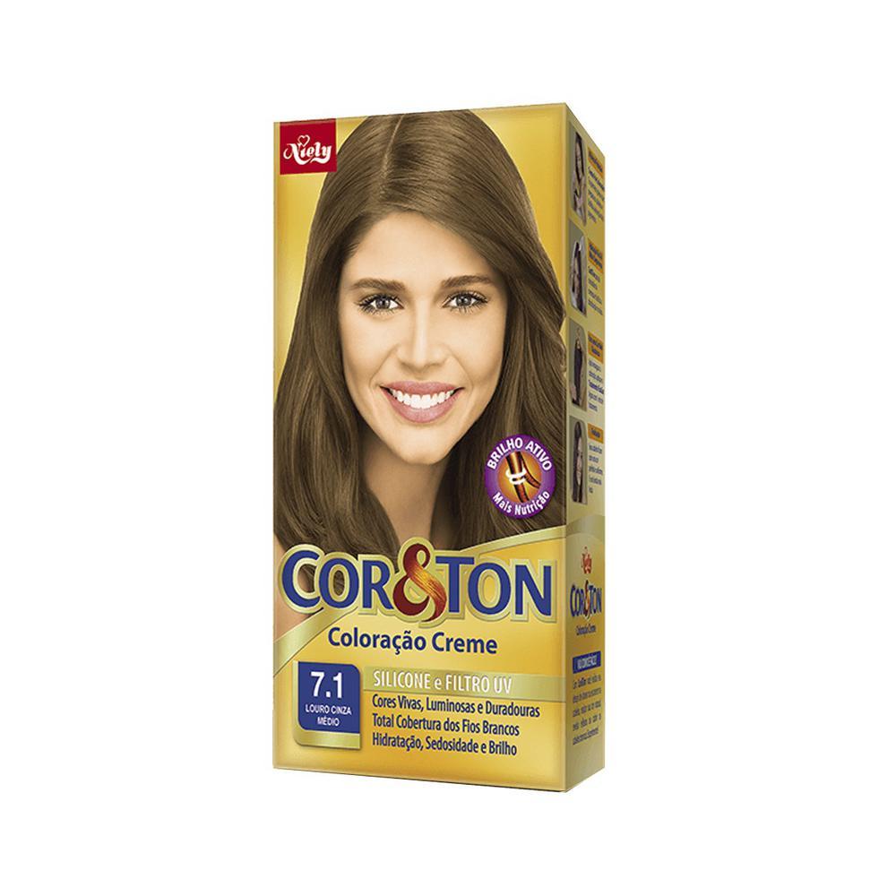 Tintura-Cor-Ton-7.1-Louro-Cinza-Medio-Mini-Kit