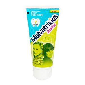 Creme-Dental-Malvatrikids-Junior-Com-Fluor-Xilitol-com-70g