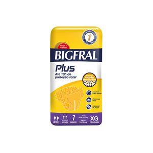 Fralda-Geriatrica-Bigfral-Plus-XG-com-7-unidades