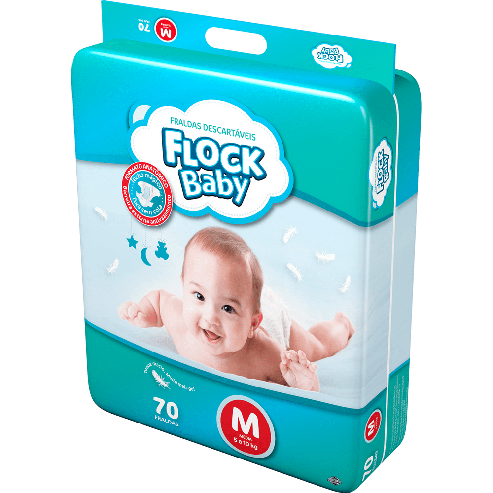 Fralda-Descartavel-Flock-Baby-Hiper-M