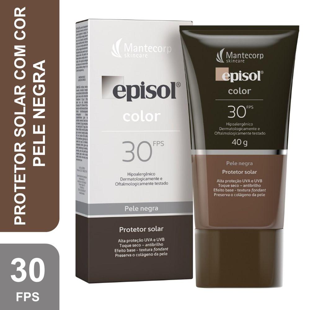 Protetor-Solar-Episol-Color-Pele-Negra-Fps30-40G