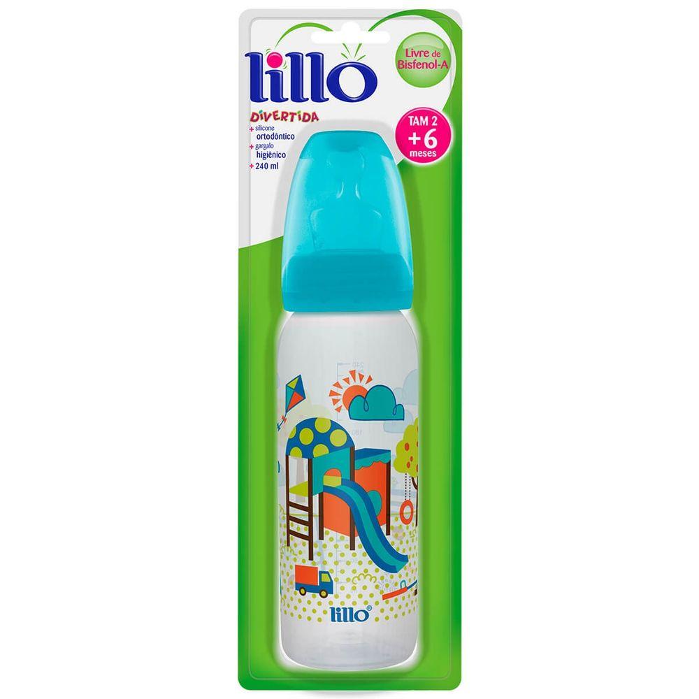 Mamadeira-Lillo-Divertida-Azul