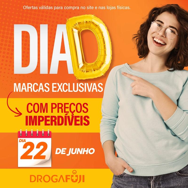 Banner M - DIA D DROGAFUJI