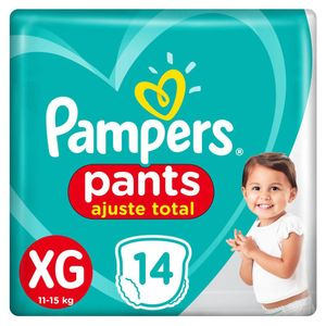 FRALDA-PAMPERS-PANTS-TAMANHO-XG-COM-14-UNIDADES