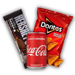 Kit-Doritos-Queijo-Nacho---Coca-Mini---Hersheys